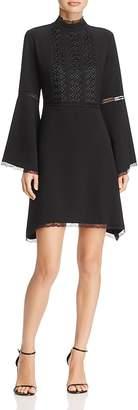 Nanette Lepore nanette Bell Sleeve Crepe Dress