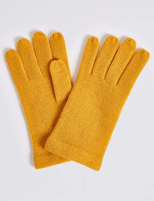 M&S Collection Knitted Gloves