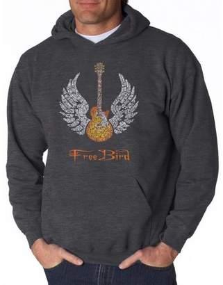 Freebird Pop Culture Men's hooded sweatshirt - lyrics to