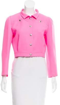 Courreges Crop Wool Jacket
