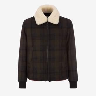 5afe30a0b Mens Wool Bomber Jacket - ShopStyle UK
