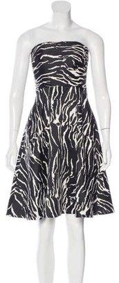 Reiss Elinor Jacquard Dress w/ Tags $95 thestylecure.com