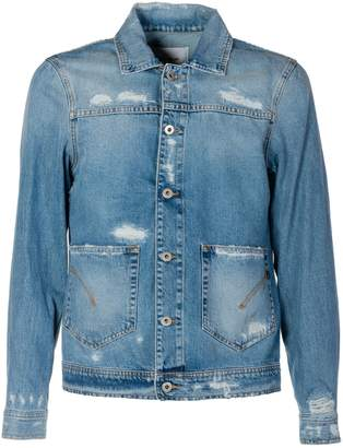 Dondup Distressed Denim Jacket