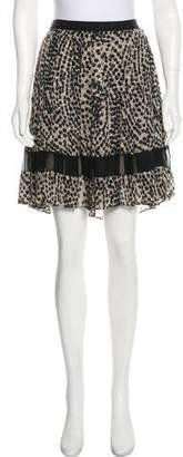 Jason Wu Pleated Knee-Length Skirt