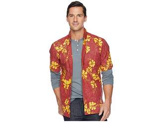 Reyn Spooner 50th State Flower Button Front Aloha Shirt