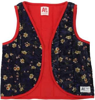 Light Padded Velvet Kimono Vest