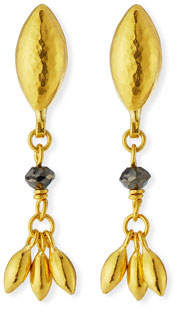 Gurhan Delicate Hue Black Diamond Drop Earrings