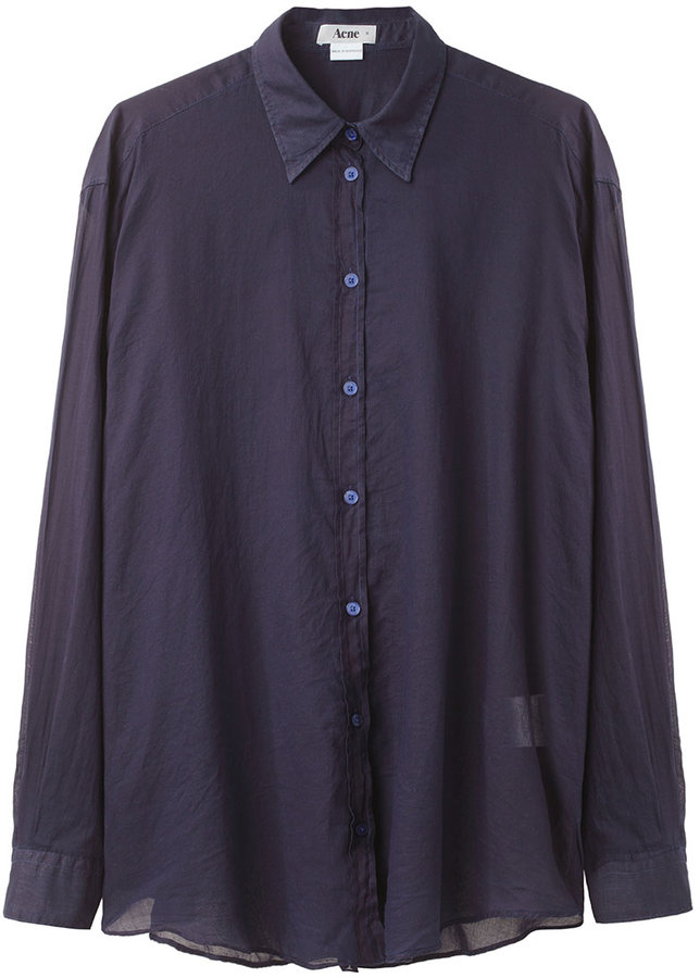 Acne Shining Button Down Shirt