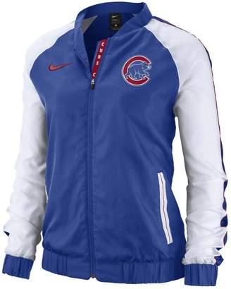 Nike Women's Chicago Cubs Varsity Jacket