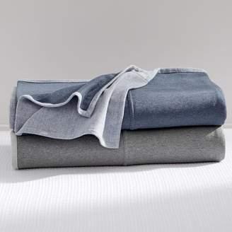 Pottery Barn Teen Sweatshirt Blanket, Full/Queen, Navy