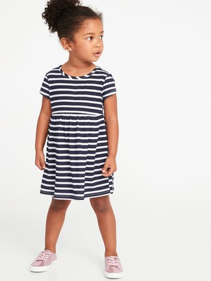 Old Navy Jersey Fit & Flare Dress for Toddler Girls