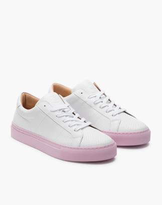 Madewell GREATS Royale Reverse Leather Low-Top Sneakers