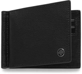 2f3ba45387 ... sweden at mulberry mulberry money clip wallet with tree plaque black  cross grain leather 4de7a bd36f