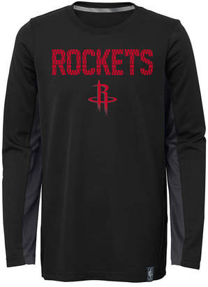 Outerstuff Houston Rockets Assist Shooter Long Sleeve T-Shirt, Little Boys (4-7)