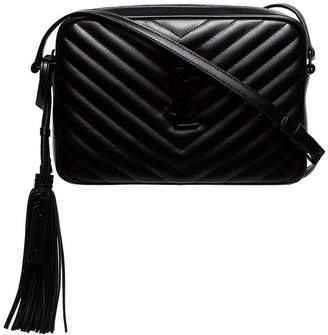 Saint Laurent quilted leather cross body bag