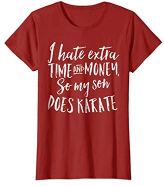 Funny Gift Shirt for Moms of Sons That do Karate