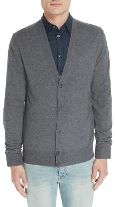 Maison Margiela Wool & Cotton Cardigan