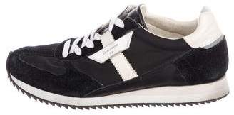 Dolce & Gabbana Suede-Trimmed Trainer Sneakers