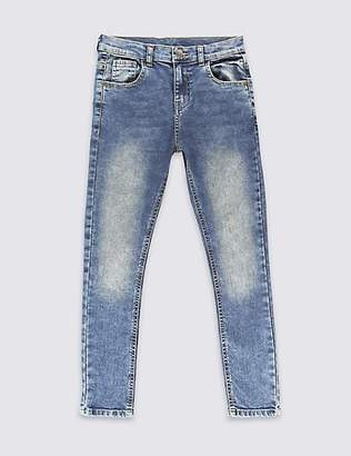 Marks and Spencer PLUS Skinny Leg Jeans with Stretch (3-16 Years)