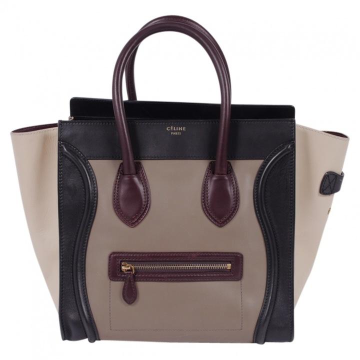 CelineLuggage leather tote