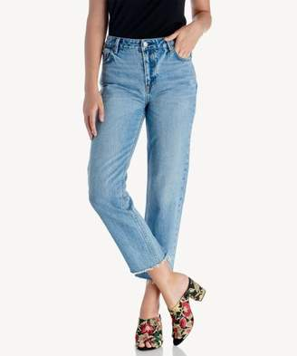 Sole Society Medium Wash Girlfriend Denim Pants