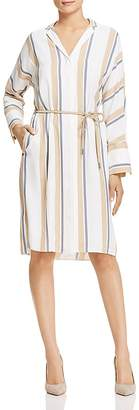 Lafayette 148 New York Calleigh Striped Shirt Dress