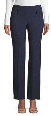 Emporio Armani Straight Leg Melange Pants