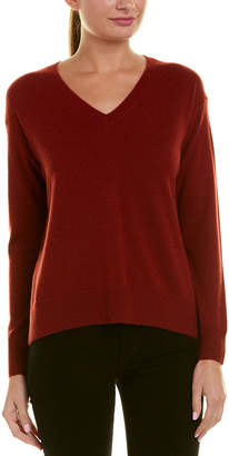 Vince Boxy Wool & Cashmere-Blend Sweater