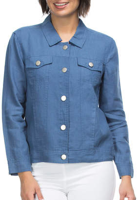 Long Sleeve Linen Jacket