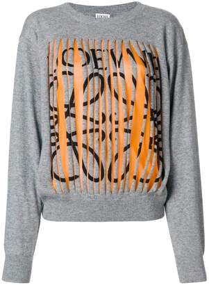Loewe cut detail sweater