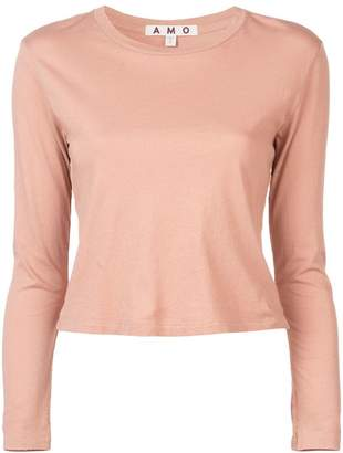 Amo fitted long sleeved top