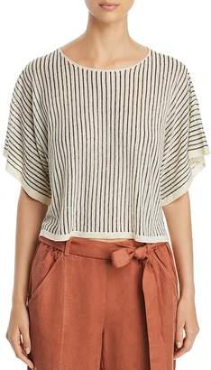 Eileen Fisher Dolman Sleeve Stripe Top