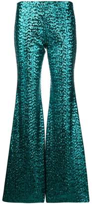 P.A.R.O.S.H. sequin embroidered trousers
