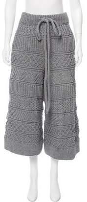 Spencer Vladimir High-Rise Knit Culottes