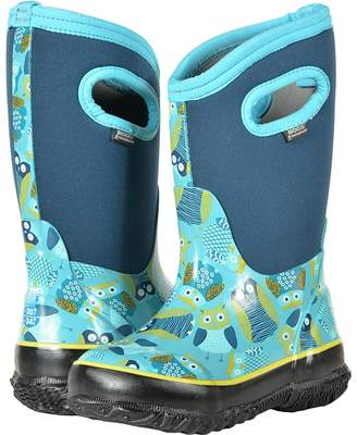 Bogs Classic Owl Girls Shoes