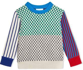Burberry Graphic Cashmere Jacquard Sweater