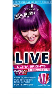 Schwarzkopf LIVE Colour Ultra Bright 110 Sunburst Collection