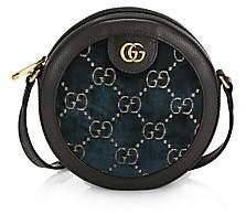 Gucci Women's GG Velvet Round Shoulder Bag