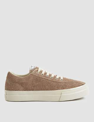 S.W.C. Dellow Hairy Suede Sneaker in Sand