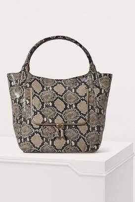 Anya Hindmarch Python print tote bag