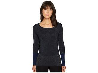 Ellen Tracy Color Block Ribbed Sweater Women's Sweater