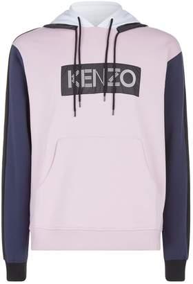 Kenzo Colour Block Logo Hoodie