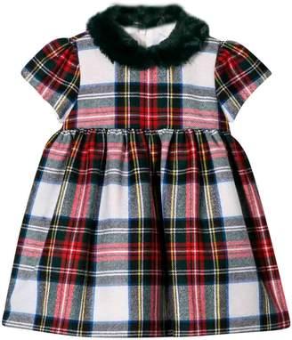Il Gufo Tartan Newborn Dress Kids