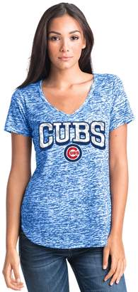 Women's Chicago Cubs Burnout Tee