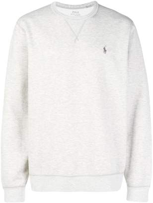 Polo Ralph Lauren logo long-sleeve sweatshirt