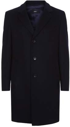 HUGO BOSS Wool Cashmere Coat