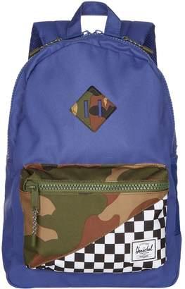 Herschel Camo Check Pocket Backpack