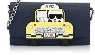 Karl Lagerfeld NYC Chain Wallet Clutch
