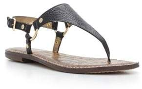 Sam Edelman Greta Harness Ring Leather Thong Sandals