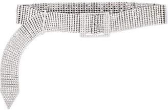 Altuzarra Blitz Swarovski Crystal-embellished Silver-tone Belt